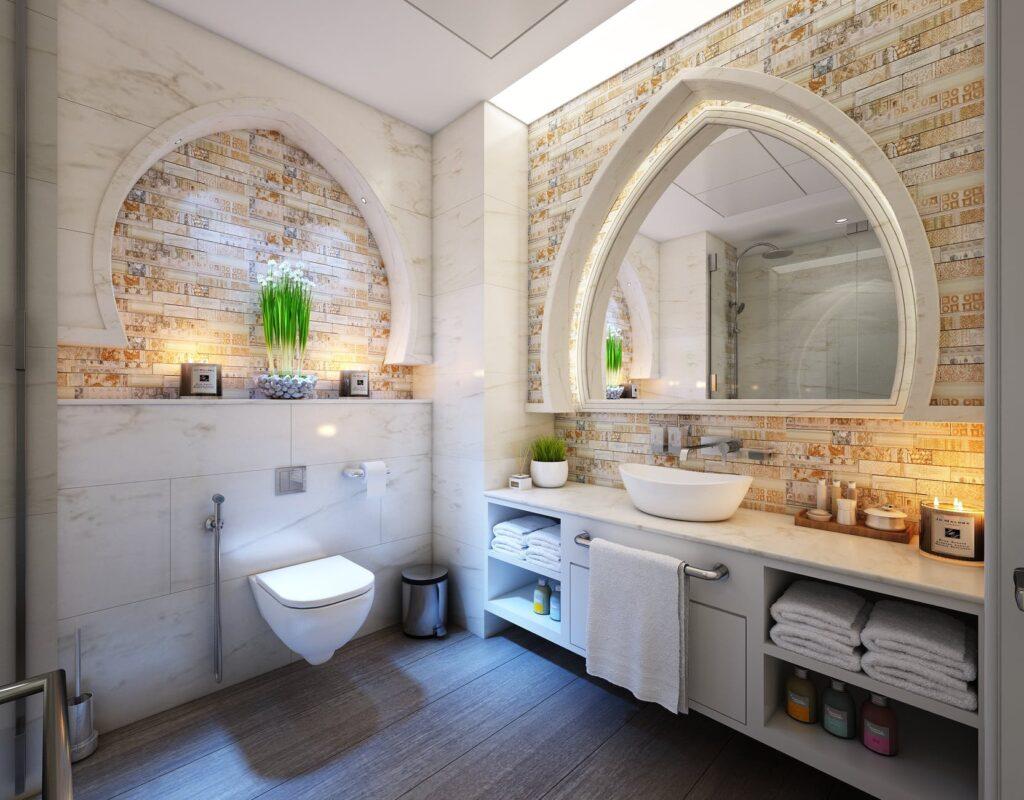 أفكار غير تقليدية لنظافة حمامك